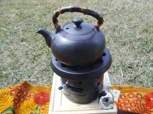 Earthenware Kettle for Boiling Tea Water