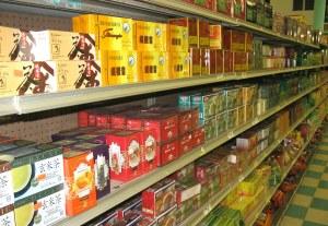 Grocery Store Tea Aisle