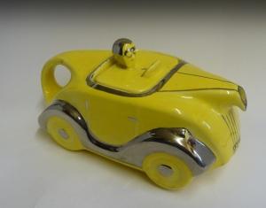Sadler Car Teapot 30s