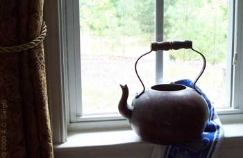 The Old Copper Tea Kettle