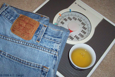 Jeans, Tea and a Scale
