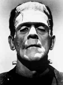 Boris Karloff as Dr. Frankenstein's monster
