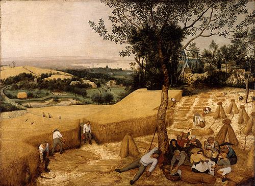"Brueghel's ""The Harvesters"""