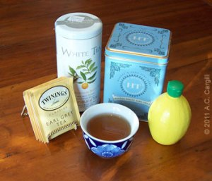 Teas with citrus