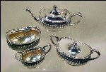 Silver Teapot and Accessories