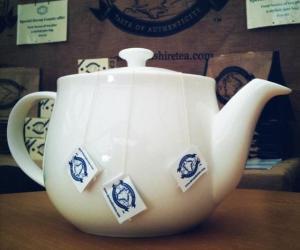 """Devonshire Tea's """"Great White"""" Teapot"""