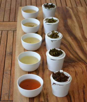 Different teas impart different liquor colour