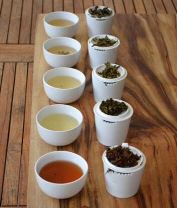 Different teas impart different liquor colour