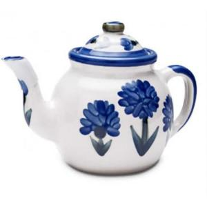 Teapot & Cover Set - Bachelor Button