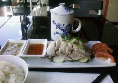 Hainan Chicken - Yummy Lunch at Qi Qi Shi