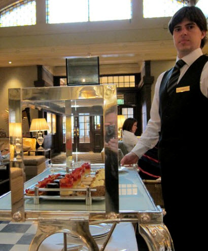 Afternoon Tea Trolley at the Sheraton