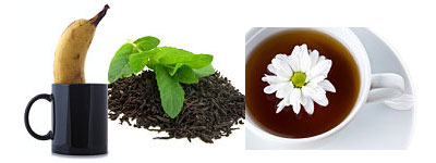 Some flavorings added to tea: fruits, herbs, flowers ... what's next?