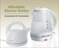 Affordable electric kettles