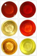 Melange Tea Cart Tea Colors