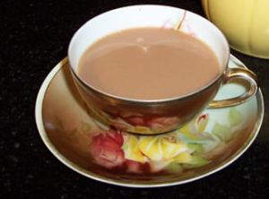 A cuppa with a touch of pu-erh