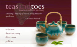 Tea and Toes