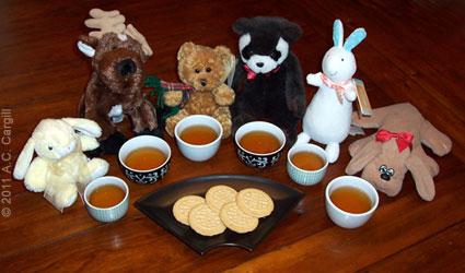 Plush Animal Lover's Tea Time (see #18)