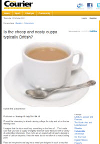 Courier: Nasty Cuppa?