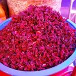 Hibiscus petals