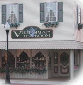 Victorian Style Tea Room