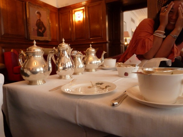 Tea at Brown's Hotel