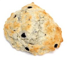 A drop style scone
