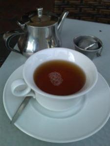 T Bar - Shui Xian Oolong tea in the cup