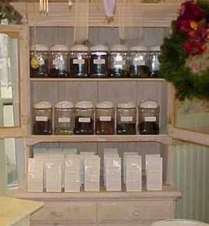 A tea cabinet full of delights!