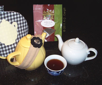 Golden Pu-erh Tea