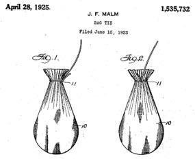 Teabag patent drawing