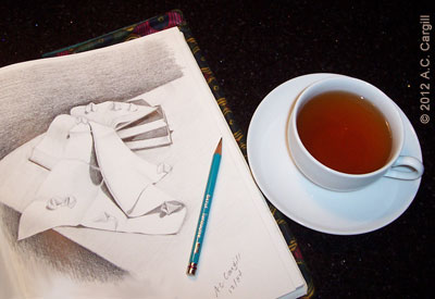 Tea inspires the artist within!