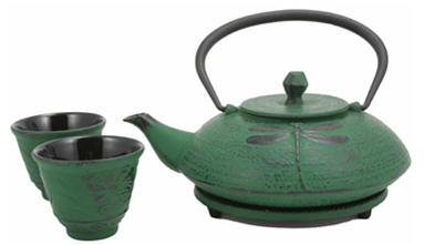 Cast Iron Tea for Two Set