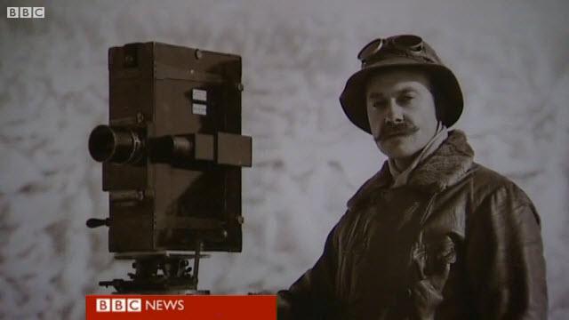 Cameras were another important part of Captain Scott's Antarctic exploration