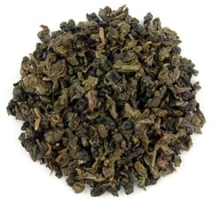 A cup full of black dragons: Organic Ti Kuan Yin Slimming Oolong