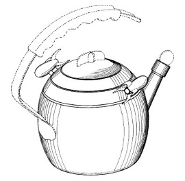 Rocket Tea Kettle