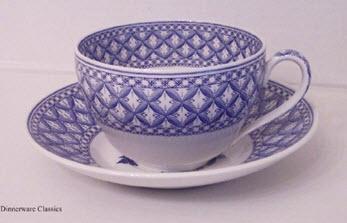 Spode Geranium Oversized Tea Cup & Saucer
