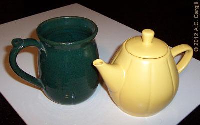 My big mug is as big as Little Yellow Teapot!
