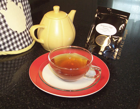 Click on image to read my review of Margaret's Hope Darjeeling