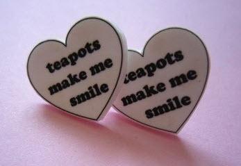 Teapots Make Me Smile earrings