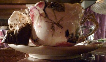 Tea Bag at Afternoon Tea – Definite No No
