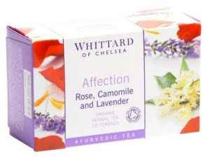 """Affection Ayurvedic"", a herbal infusion from Whittard's, was one of the teas I bought as a Mother's Day gift. Apart from being a tea I knew she would like, the name said it all!"