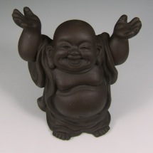 """Uplifting Laughing Buddha Tea Pet"", from www.chinese-tea-culture.com"