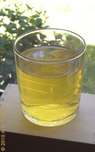 A glass of cold tea — as good as a glass of water!