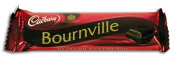 Cadbury Bournville Bar - all rich dark chocolate - healthy never tasted so good!