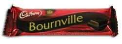 Cadbury Bournville Bar - all rich dark chocolate - healthy never tasted so good!