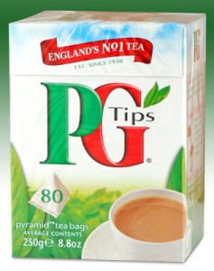 PG Tips travels well!