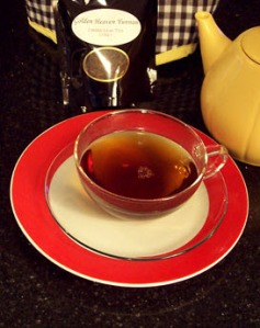 Golden Yunnan – not peppery enough to take away the bad taste of that badly written book!