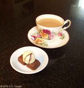 Lovers Leap Darjeeling never fails to please and goes especially well with chocolate!