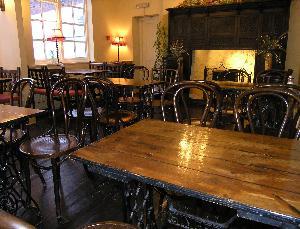Vennels Café in Durham, England
