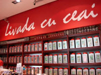 Livada - Long on tea ware, tho' sadly short on customer service.